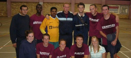 Our futsal team who played in a local league, South Africa