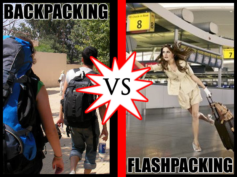backpacking vs flashpacking