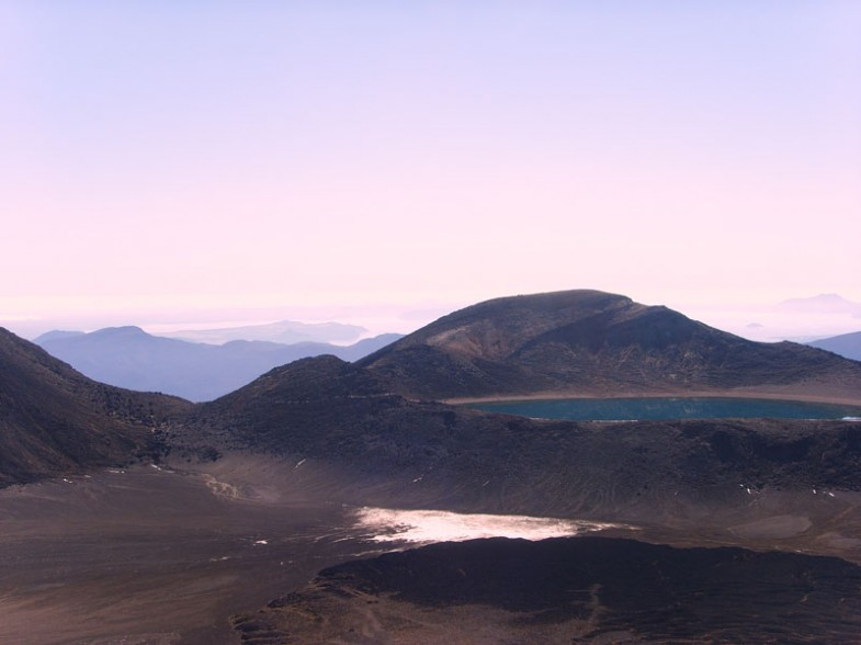 the tongariro crossing, new zealand