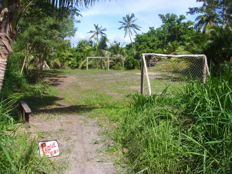 Vorovoro Football pitch, tribewanted, fiji