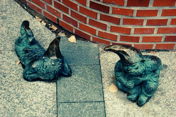 dwarves of wroclaw, poland