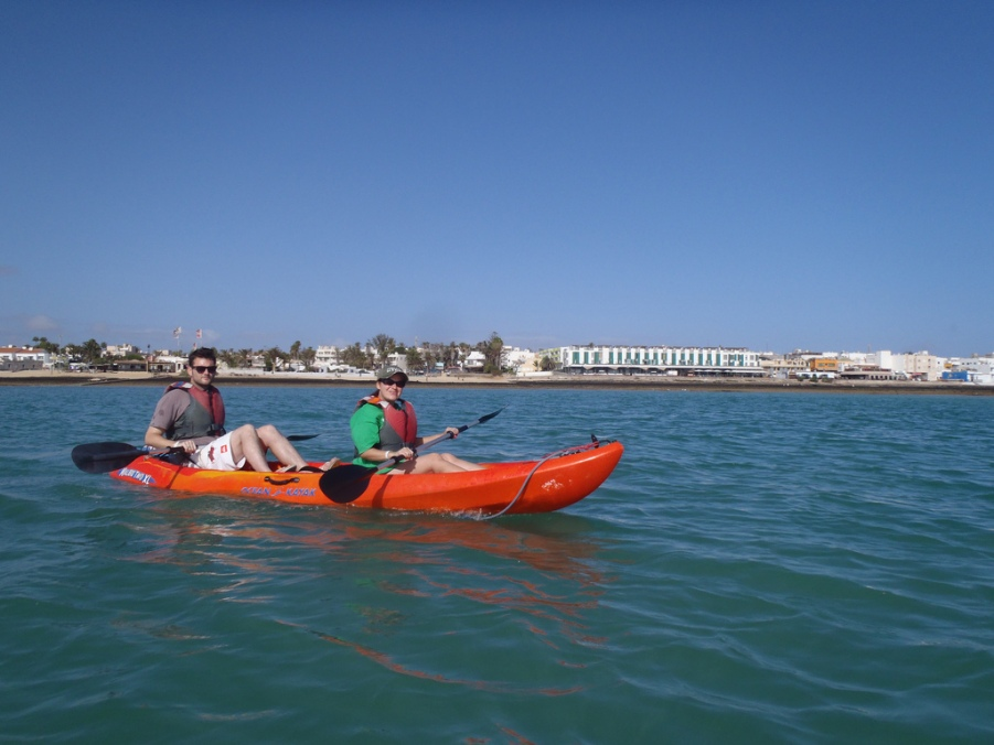 Sea Kayaking in Corralejo