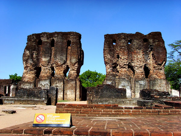 Palace of King Parakramabahu in Polonnaruwa