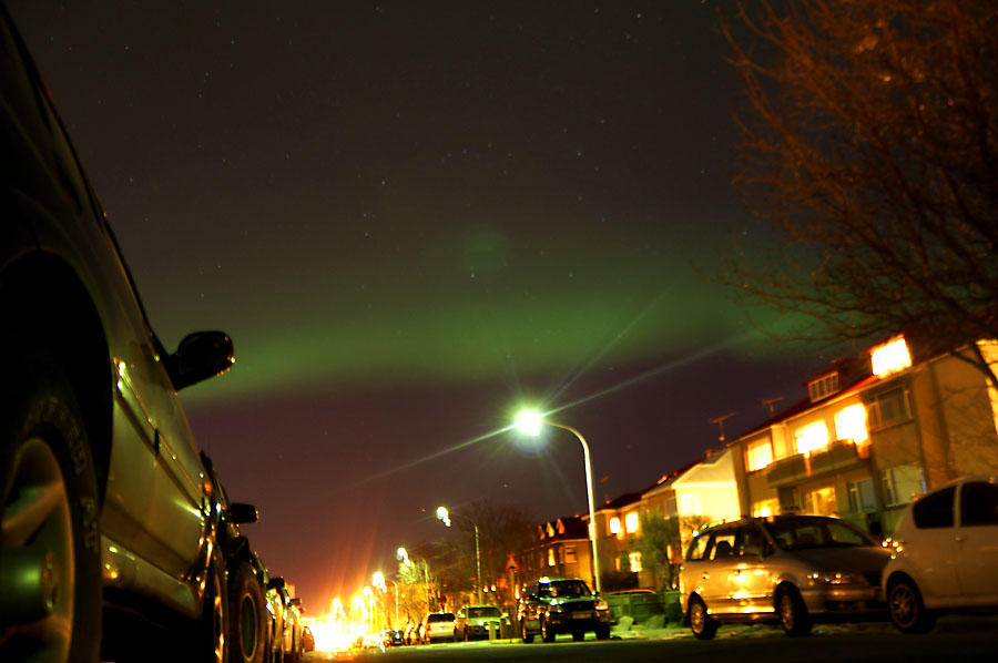 Reykjavik Northern Lights