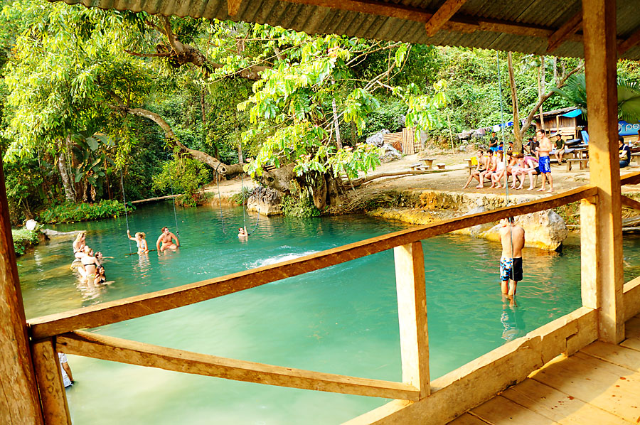 The Blue Lagoon Vang Vieng