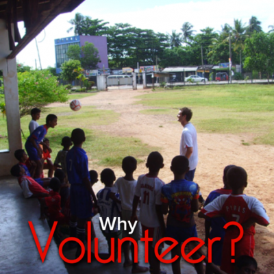 why volunteer travel