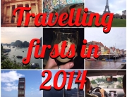 travelling firsts in 2014