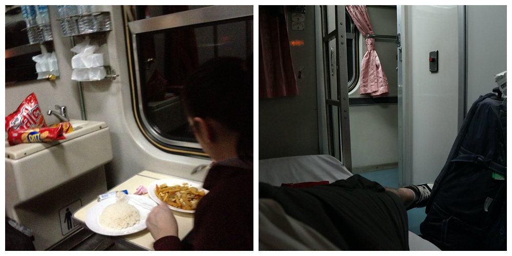 Bangkok to Nong Khai overnight train