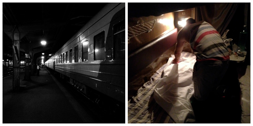 Bucharest to Sofia overnight train