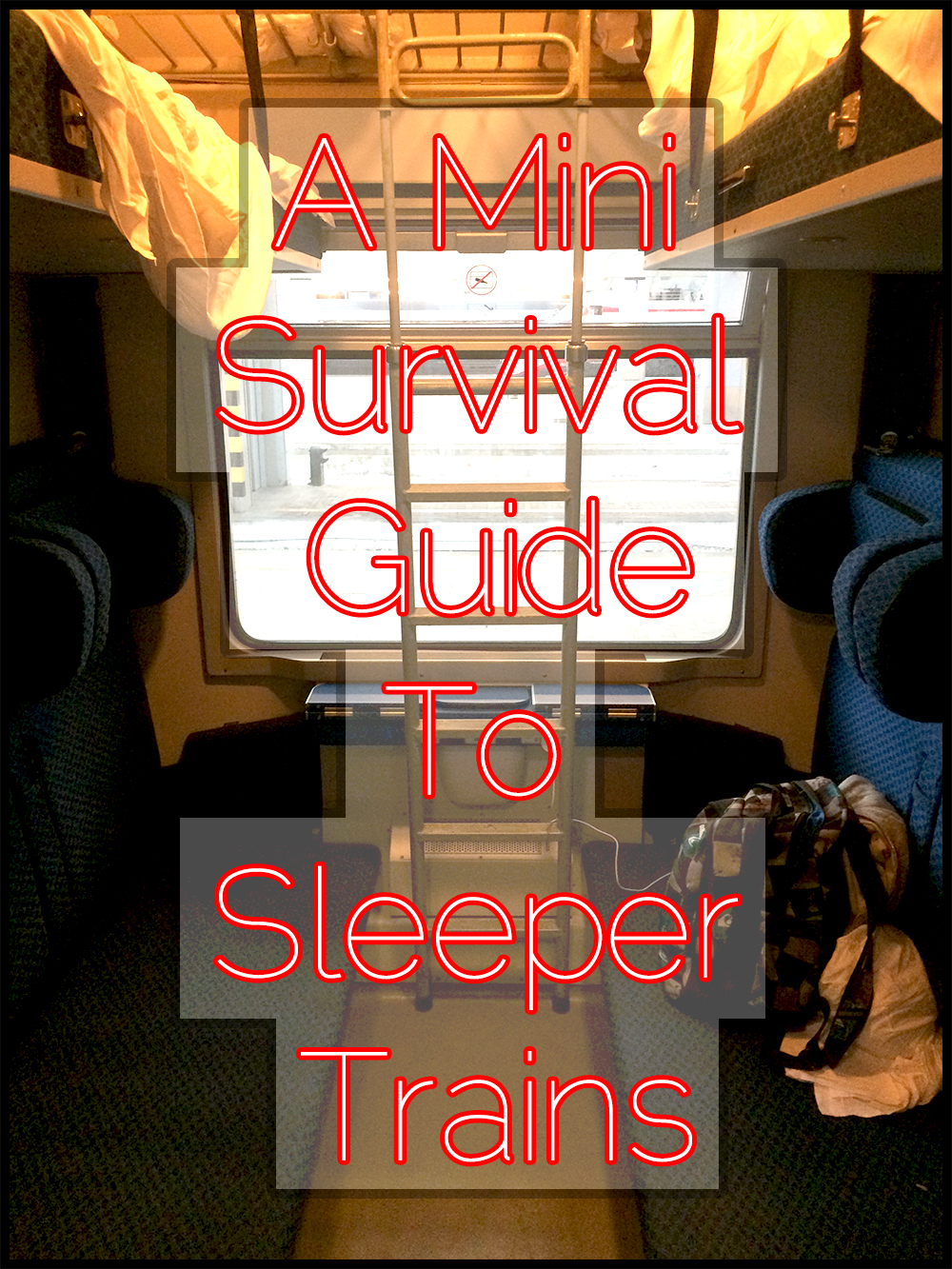Survival guide to sleeper trains