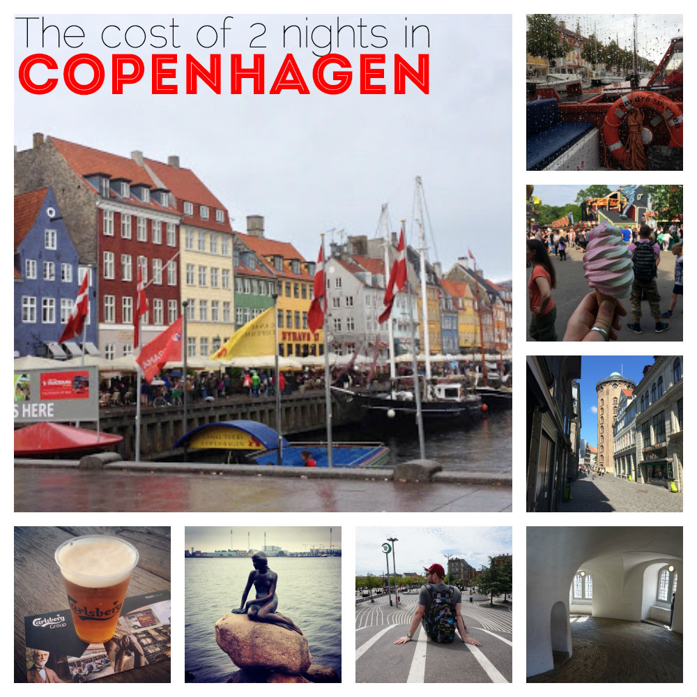 Cost of 2 nights in Copenhagen