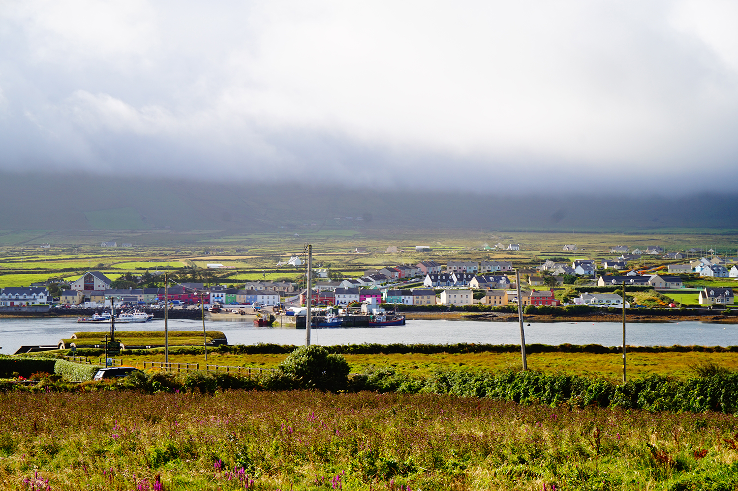 colourful village of Portmagee