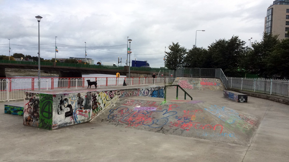 Mount Kennet Skate Park Limerick City