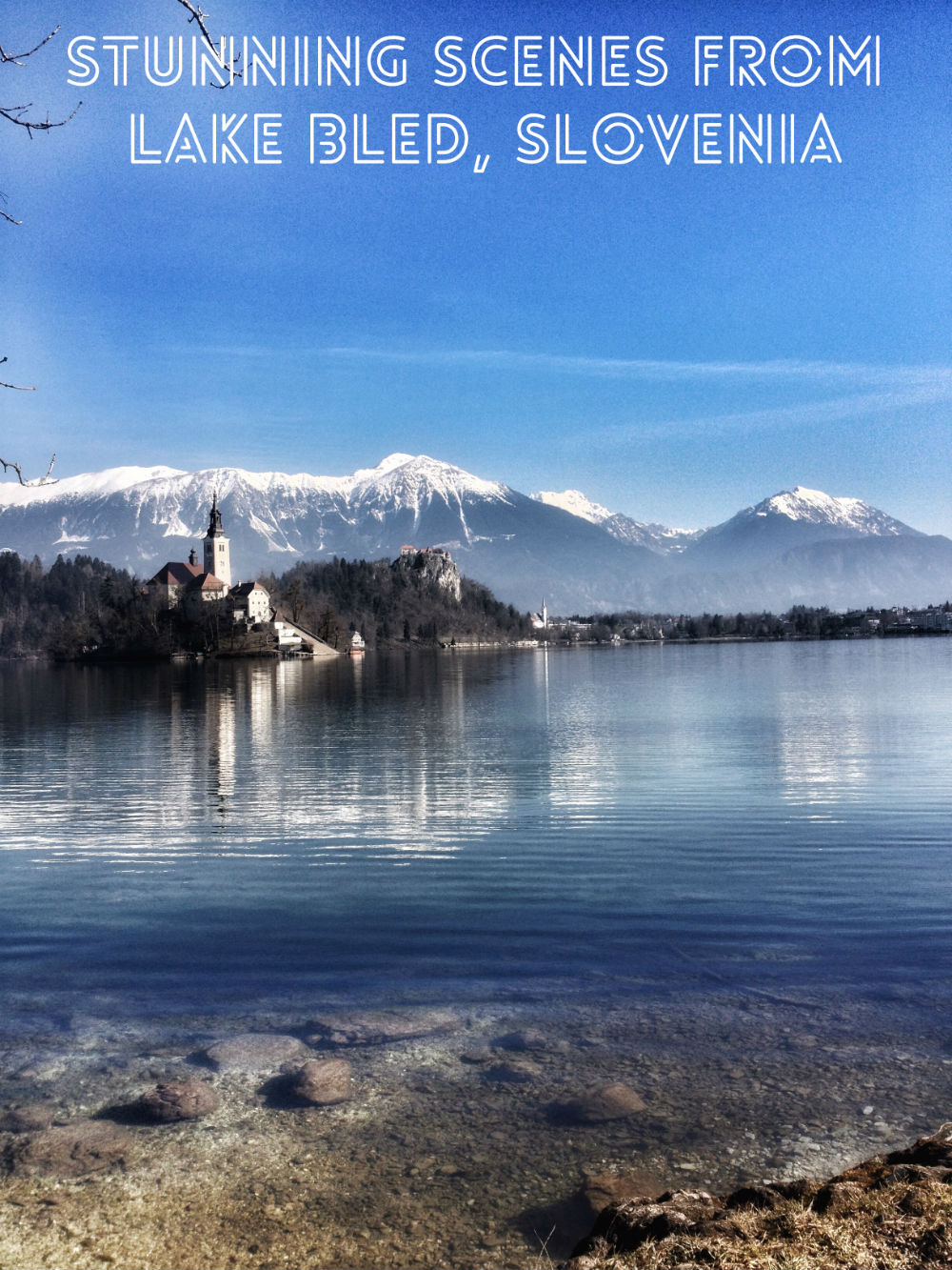 Stunning scenes from Lake Bled, Slovenia
