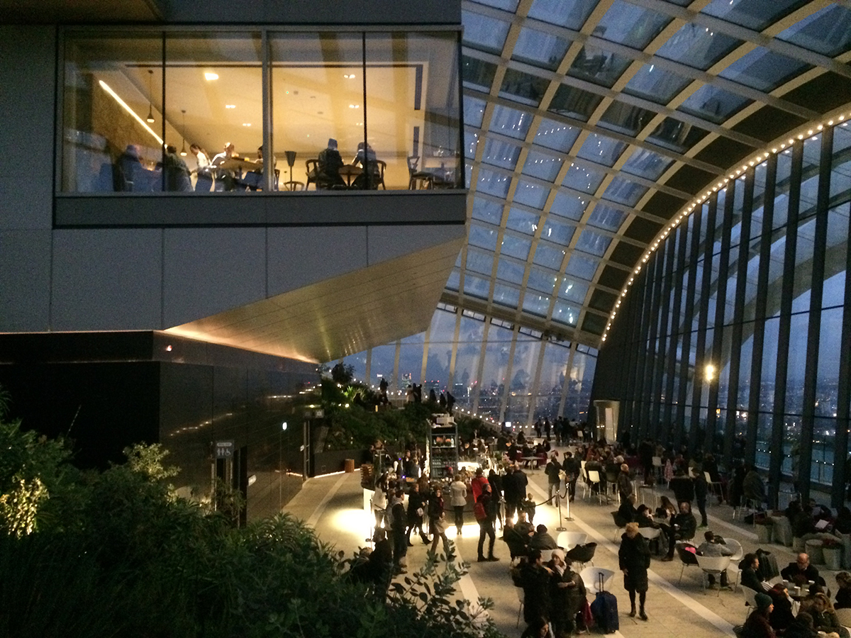 The Sky Garden Fantastic Views Over London For Free
