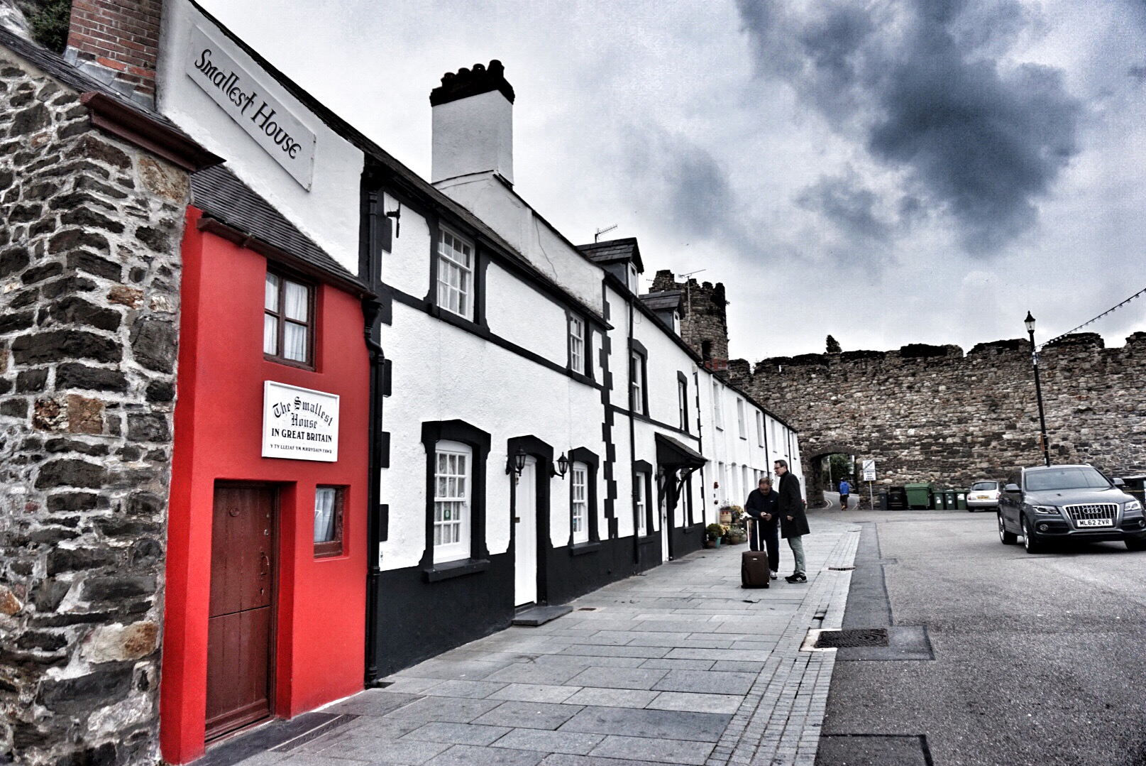 Conwy smallest house in the UK