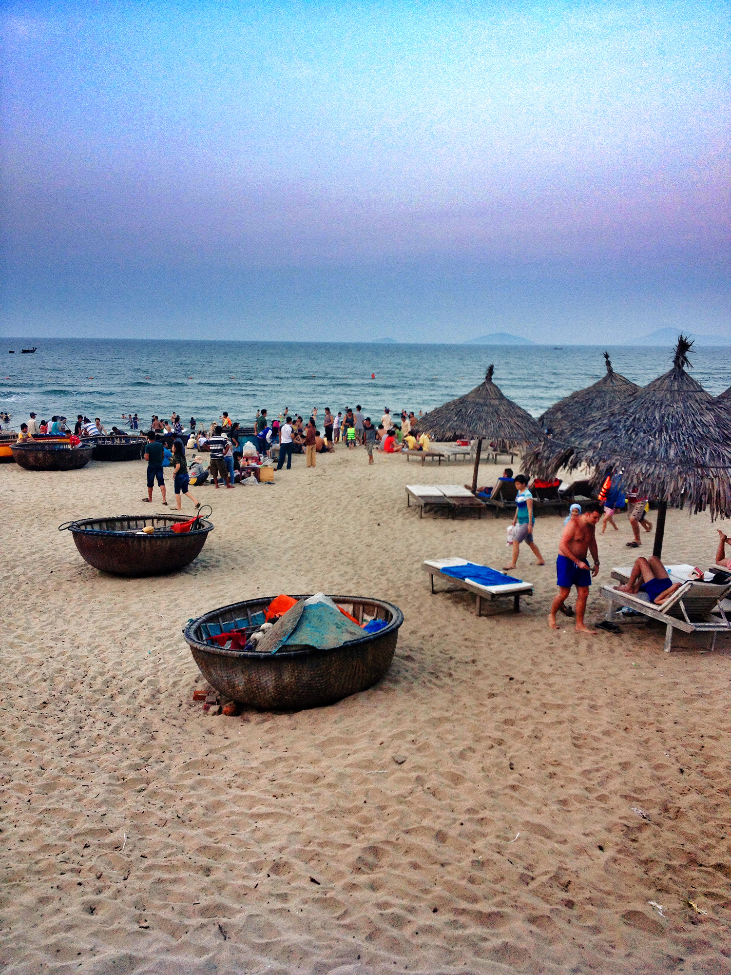An Bang beach at dusk, Hoi An
