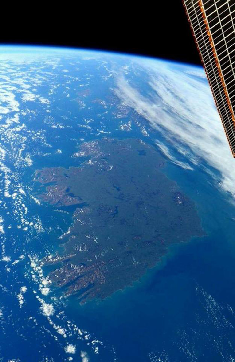 Ireland From space by @AstroTerry