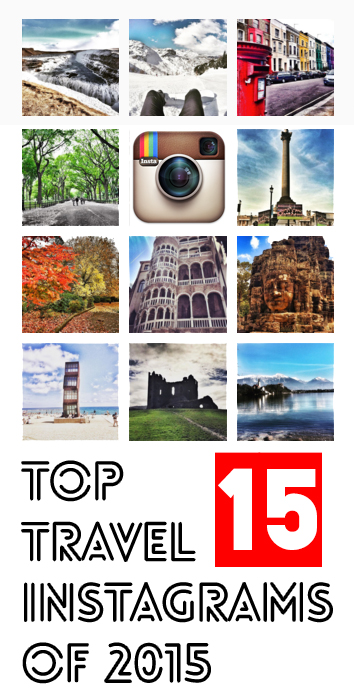 top travel instagrams 2015