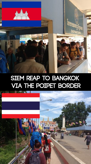 Siem Reap to Bangkok via the Poipet boarder