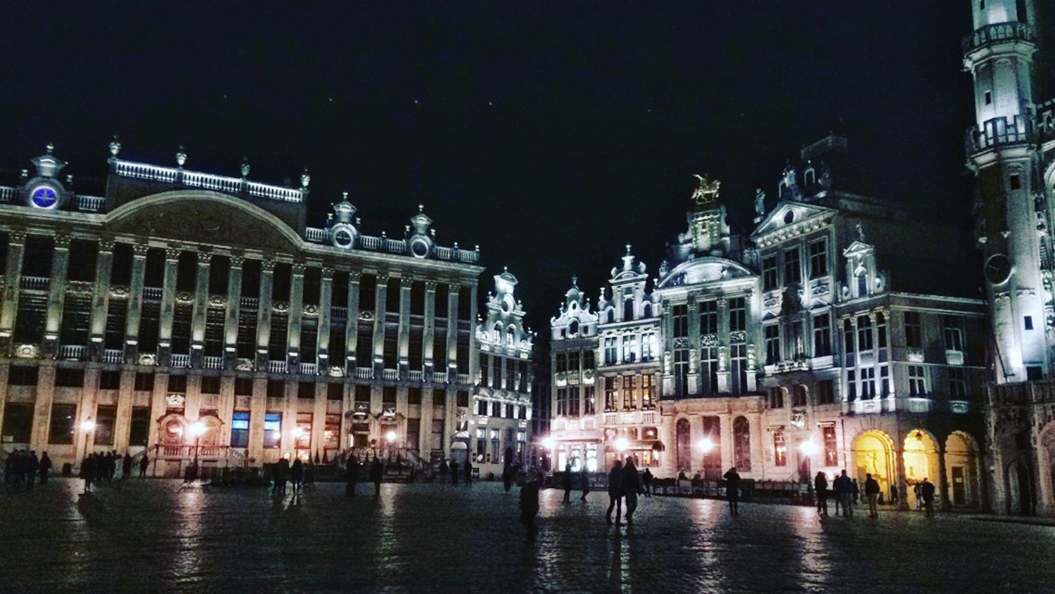 Grand-Place Brussels by night