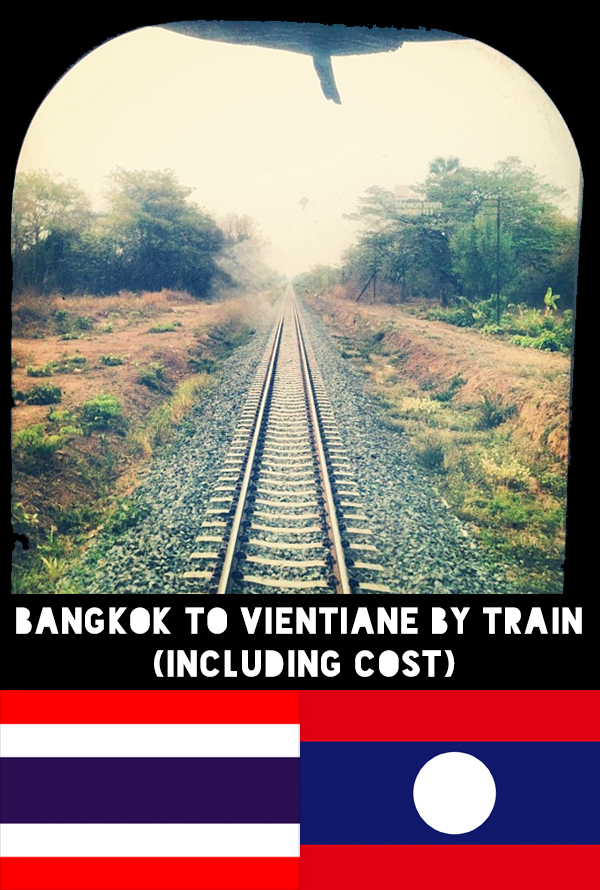 Bangkok to Vientiane by train