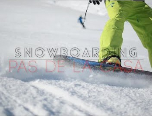 Snowboarding the slopes of Grandvalira, Andorra [VIDEO]