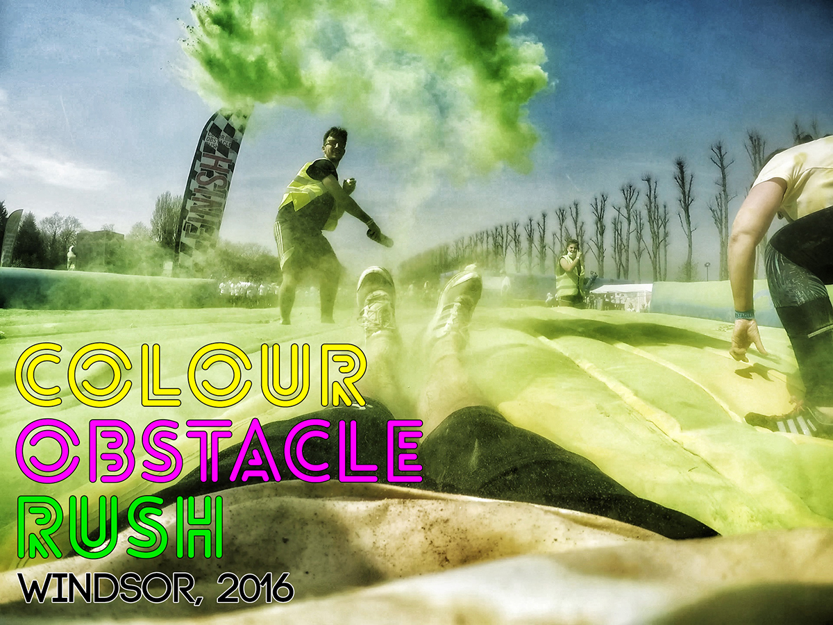 Colour Obstacle Rush Windsor