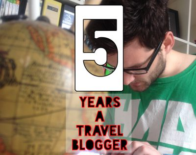 5 years travel blogging