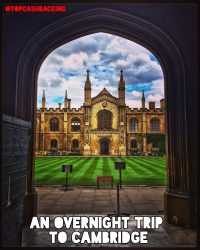 An overnight trip to Cambridge