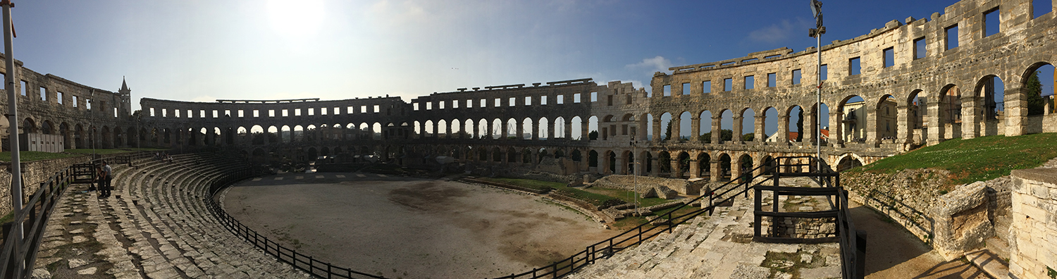 Pula arena panoramic