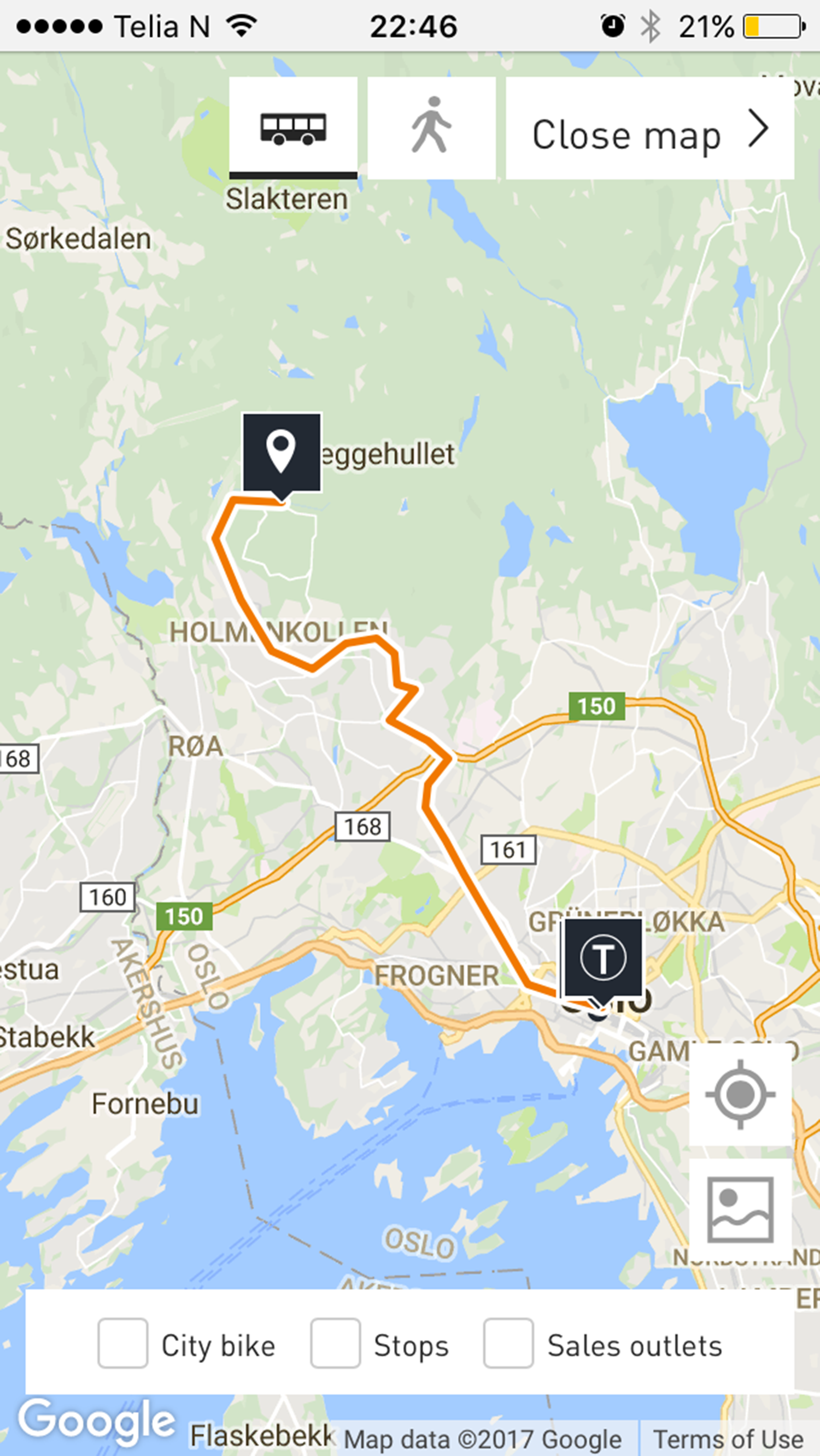 Getting to Oslo Vinterpark