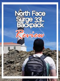 north face Surge 33L backpack
